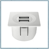 Halefe Loox white square USB charging station