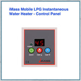 iMass Mobile LPG Instantaneous Water Heater Control panel