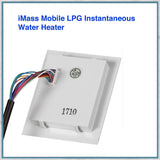 iMass Mobile LPG Instantaneous Water Heater rear of control panel