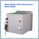 iMass Mobile LPG Instantaneous Water Heater rear view