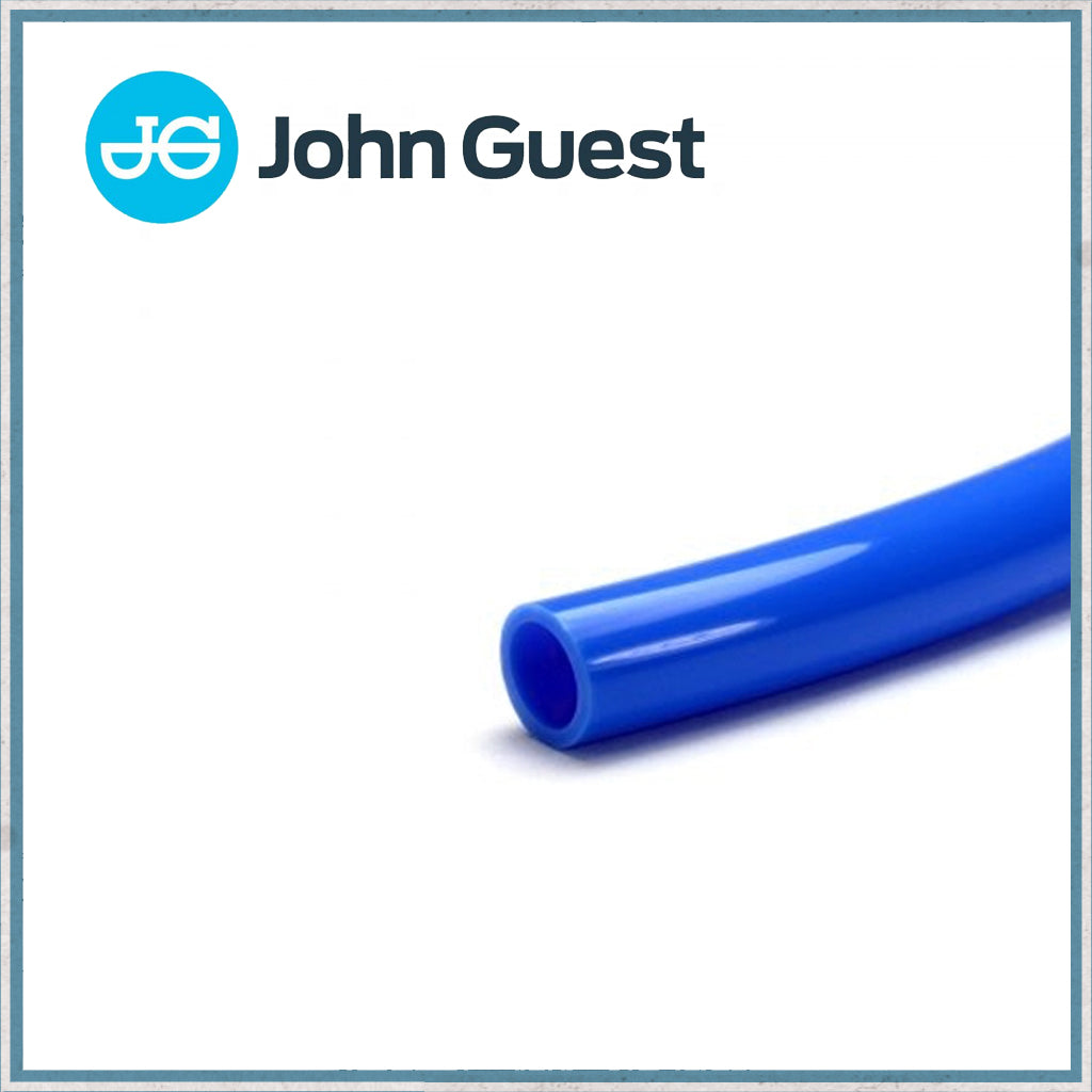 John Guest 12mm semi rigid blue pipe
