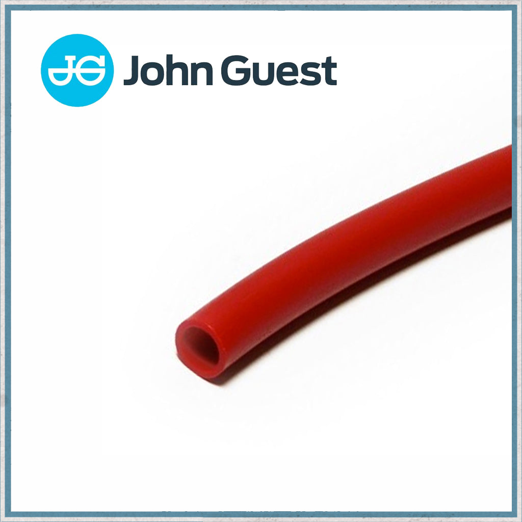 John Guest 12mm Red Semi Rigid Pipe