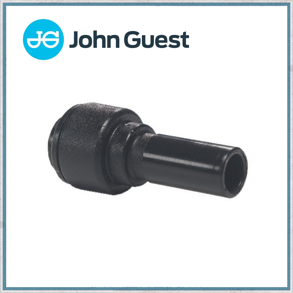 John Guest Stem Adaptor - 12mm to 10mm
