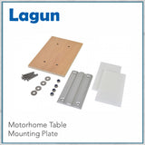 Lagun Adjustable Swivelling Table Mounting System - lower mounting plate