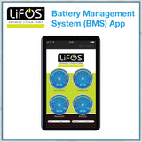 Lifos lithium iron battery management app