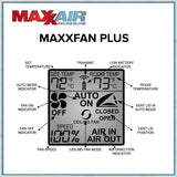 MAXXFAN Plus lcd display