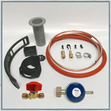 Basic Butane Gas Fitting Kit for Camper Van Hobs and Combination Units