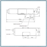 Propex HS200e lpg and electric blown air heater schematic diagram