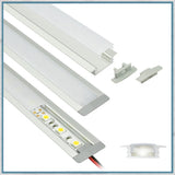 Recessed Aluminium LED Lighting Channel Kit