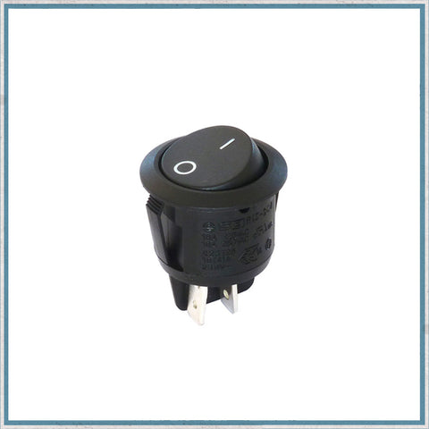 12V Round Rocker Switch