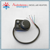 2KW Autoterm Planar Diesel Air Heater - Small Marine Kit -rotary control