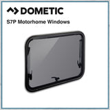 Dometic S7P Top-Hung Hinged Window For Curved Vans