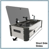 CAN SL1400 Two Burner Hob & Sink Combination Slide-out unit - short slide