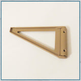 Triangular shelf bracket