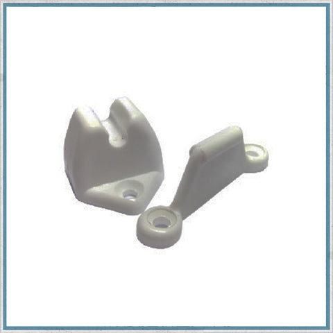 Outer door retainer (Karmann Gipsy or Eriba)