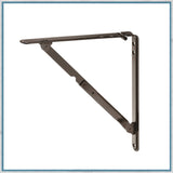 Folding shelf bracket, 310mm x 310mm, per pair