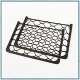 Pair of Elasticated storage net vans and motorhomes, 310mm x 210mm