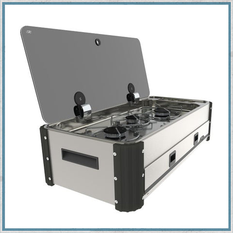 CAN SL350 Three Burner Hob Slide-Out Unit