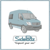 Sidepodz by Camper Interiors