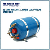 22 litre single coil calorifier