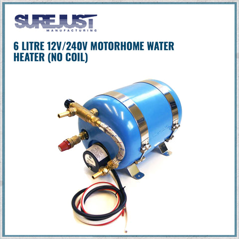 Surecal 6 litre 12v/230V Motorhome Water Heater
