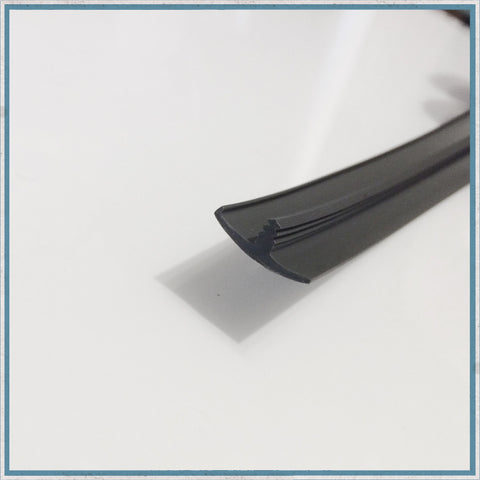 15mm Single Lipped Knock-in Edge Trim