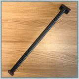 Folding table leg - Black Anodised Aluminium