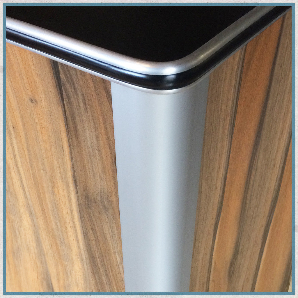 800mm Aluminium Furniture Corner Profile