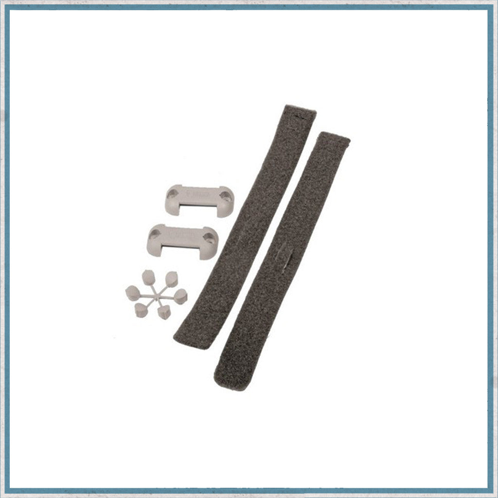 Table leg storage strap kit