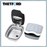 Thetford Argent sink with accessories