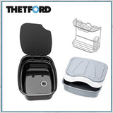 Thetford Argent sink black enamel with accessory set