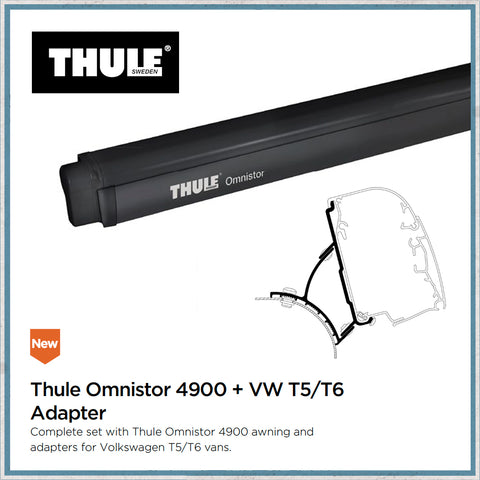 VW T5 T6 Thule omnistor awning kit for vans with pop top raising roofs