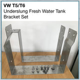 Stainless bracket kit for VW T5 T6 underslung water tank