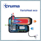 Truma Varioheat eco gas blown air heater diagram