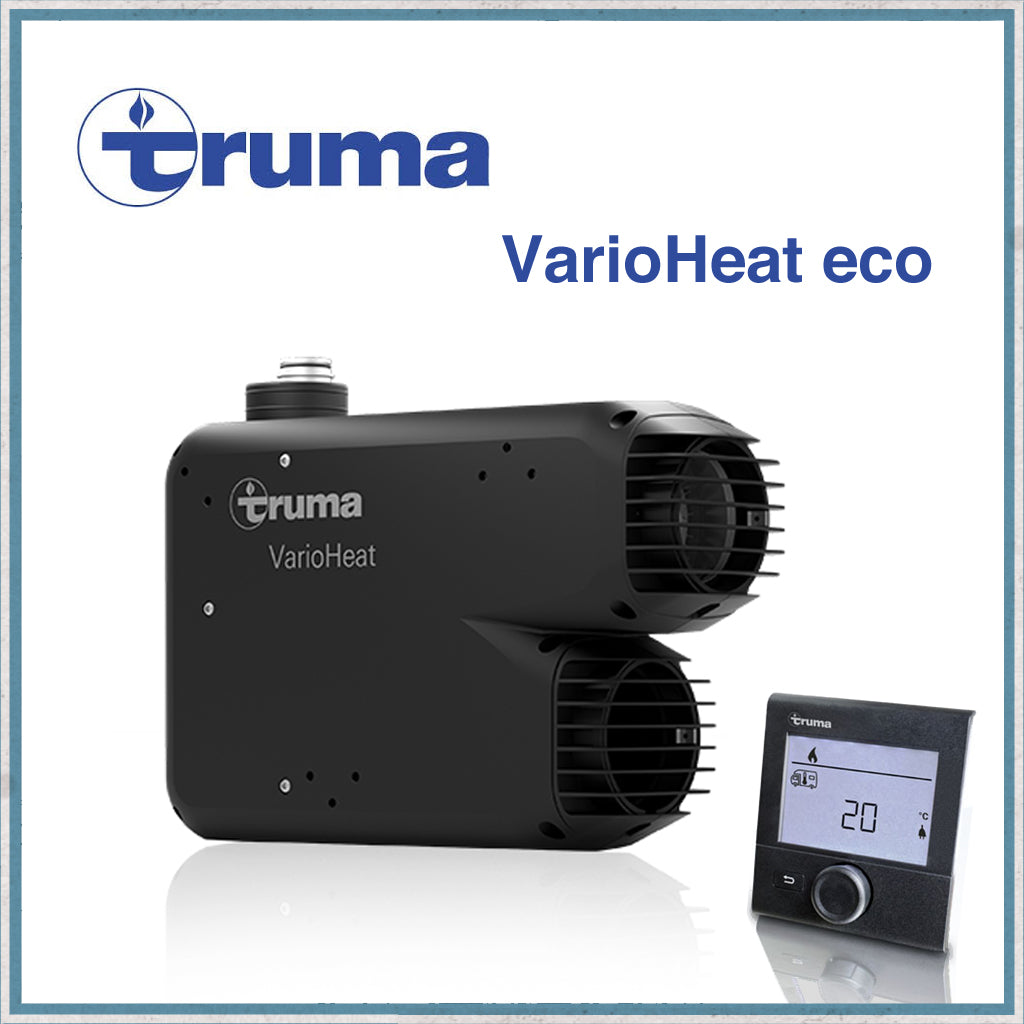 Truma Varioheat eco gas blown air heater with digital controller