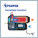 Truma VarioHeat Comfort Blown Air Campervan Motorhome Caravan Heater internal drawing