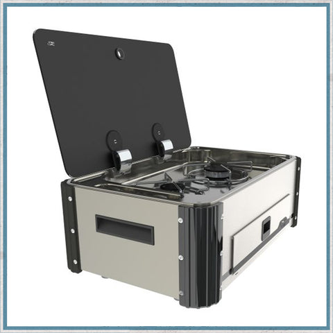 SL336 Twin Burner Hob Slide-out unit