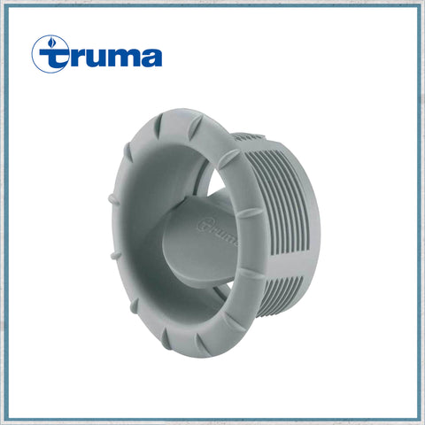 Truma Blown Air Heater End Outlet with Air Throttle-Grey