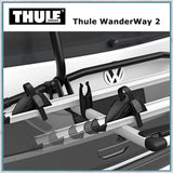 Thule Wanderway 2 - VW T6 Bike Rack adjustable rails