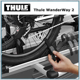 Thule Wanderway 2 - VW T6 Bike Rack wheel clamps