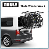 Thule Wanderway 2 - VW T6 Bike Rack with 4 bikes