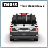 Thule Wanderway 2 - VW T6 Bike Rack - rear view