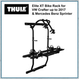 Thule Elite XT Bike rack for merceds Sprinter and VW Crafter