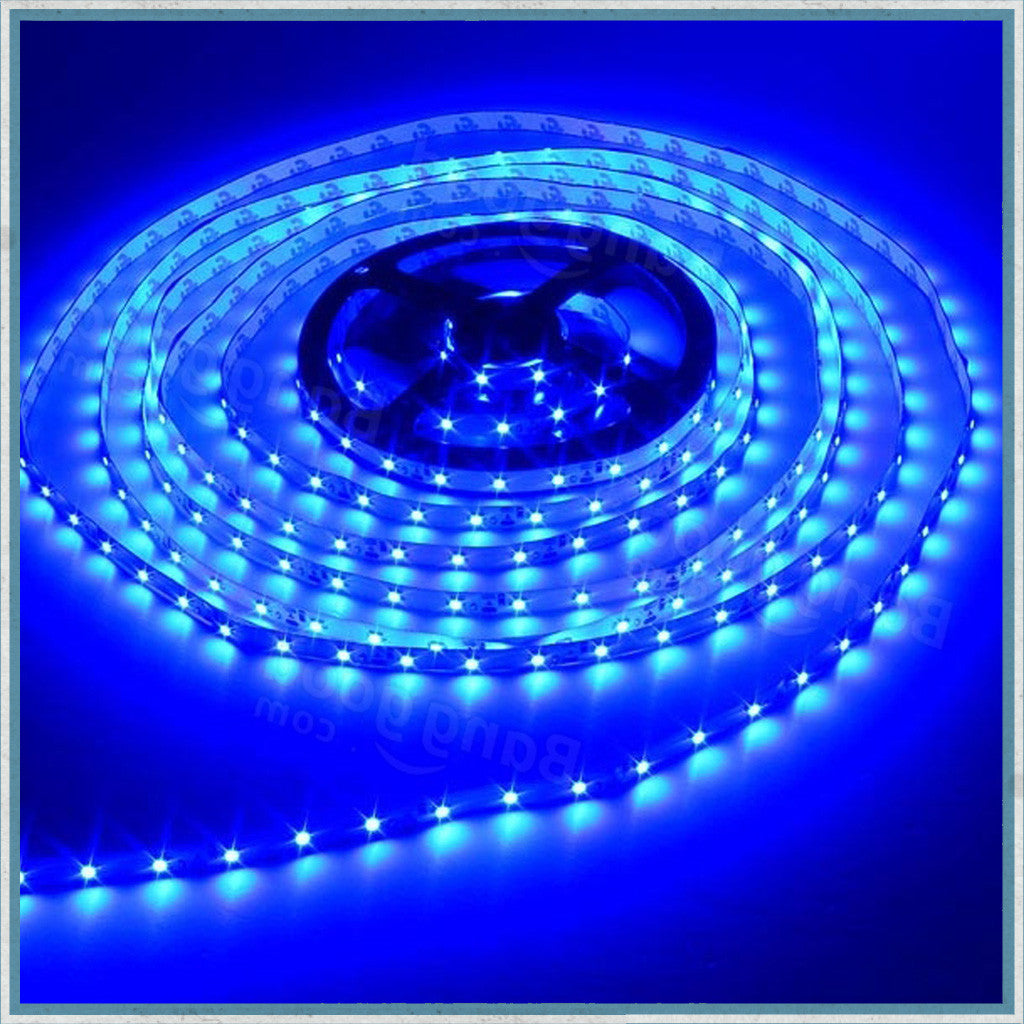 12V Blue 5 Metre NON-Waterproof LED Lighting Strip