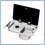 CAN FL1323 Single burner and sink combination unit with right hand sink