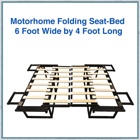 Motorhome Folding Bench Seat Bed