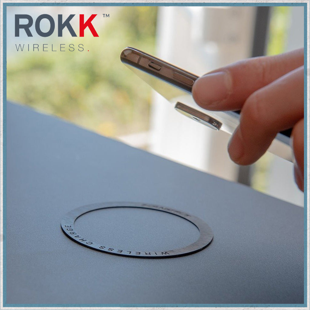 ROKK wireless placement ring