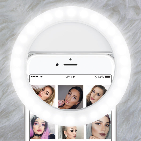 Lumi Pop - Vanilla White - Selfie & Beauty Ring Light