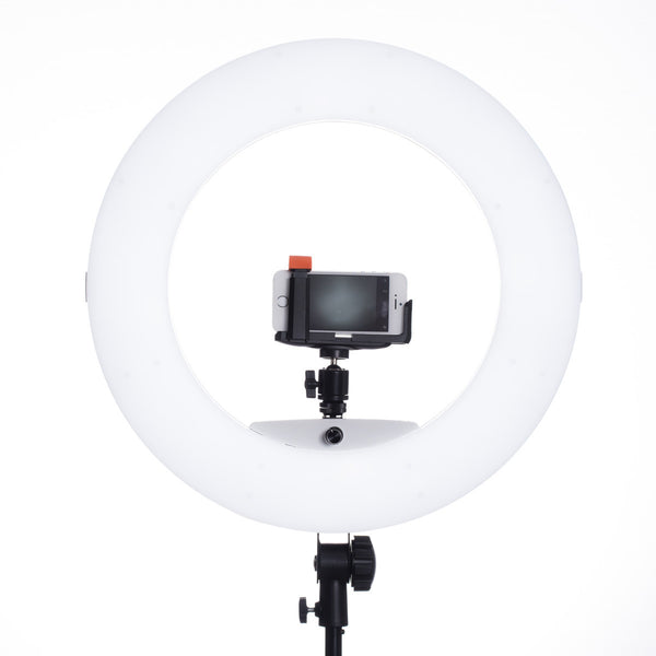 Lumipop - Vlog Ring Light & Vanity Mirror Vanilla - Kit med Stativ
