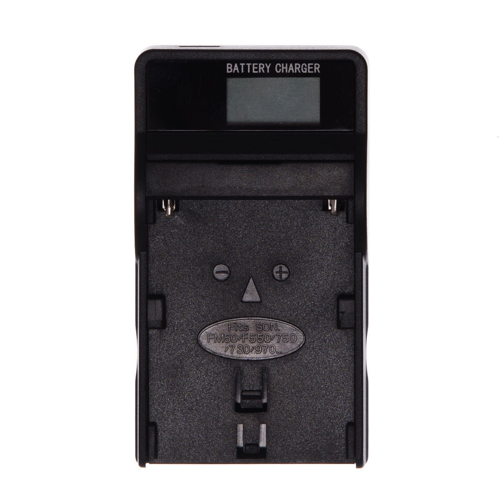 USB Batterilader for Sony NP-F970